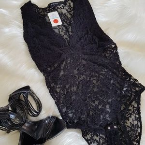 Other - NWT lace bodysuit